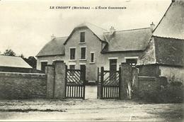 LE CROISTY, L'école Communale (portail) - France
