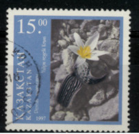 *C3* - KAZAKISTAN 1997 - Flora. Tulipani  - 1 Val.  Oblit. - Bello