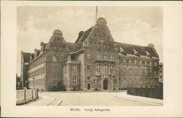 AK Moers, Königl. Amtsgericht, Um 1914 (23074) - Moers