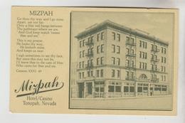 CPSM TONOPAH (Etats Unis-Névada) - MIZPAH Hôtel Casino - Etats-Unis