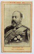 Chromo Chocolat SADLA Edouard VII Roi D'angleterre King - Chocolate