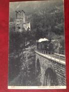 GR ALBULA Albulabahn Ruine Campi - GR Grisons