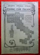 Fascicolo VII (senza Fogli All'interno) ATLANTE STRADALE D'ITALIA Touring Club Italiano 1923-26 (Dir. L. V. Bertarelli) - Carte Stradali