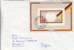 République Fédérale - Lettre De 1974 - Oblit Leverkusen - Aigle - Valeur 6 Euros