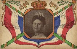 Netherlands, 25th Anniversary Queen Wilhelmina (1923) Postcard - Royal Families