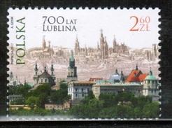 PL 2017 MI 4904 700 Years Of City Lublin ** - 1944-.... Republik