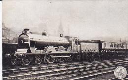 Cp-ang-train -west Coast Corridor Express At Dundee-london & North Western-railway Companyy-zug - Angus