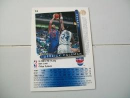 CARTE BASKET NBA UPPER DECK ´93-´94 N°14 - Basketball - NBA