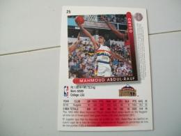 CARTE BASKET NBA UPPER DECK ´93-´94 N°25 - Basketball - NBA