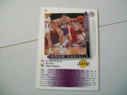 CARTE BASKET NBA UPPER DECK ´93-´94 N°27 - Basketball - NBA