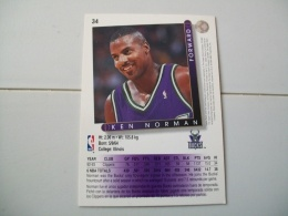 CARTE BASKET NBA UPPER DECK ´93-´94 N°34 - Basketball - NBA