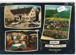 """CPM GF - Allemagne -  Ehrenstetten - Multivues Gasthaus """" Zum Wilden Mann"""" ( Défauts )-Envoi Gratuit - Other"""