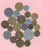 Monnaies En Vrac -B2517 -Lot 23 Pièces Diverses  ( Type, Nature, Valeur, état... A Apprécier  Avec Scans)-Envoi Gratuit - Kilowaar - Munten