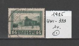 RUSSIA 1925 Ann. Della Morte Di Lenin Mausoleo Di Mosca 14Kop. Mi. 293 - Unif.333 - 1v. Usato - Usati