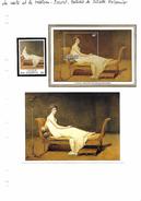 La Carte Et Le Tableau - Louis David - Portrait De Juliette Récamier - Art