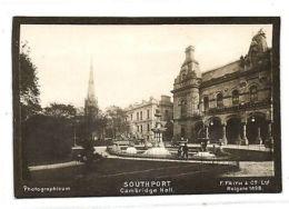 Lancs, SOUTHPORT, Cambridge Hall (1898) Photographicum