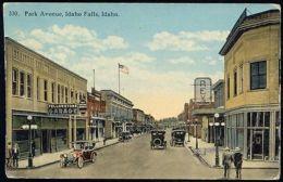 Idaho Falls, Idaho, Park Avenue, Garage, Rex, Cars 20s - Idaho Falls