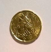 20 CENTIMOS FRANCIA 2001      Sin Circular - Francia