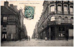 61 FLERS - Rue De La Boule    (Recto/Verso) - Flers