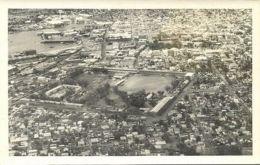 Mauritius, PORT LOUIS, Aerial View (1940s) RPPC - Mauritius