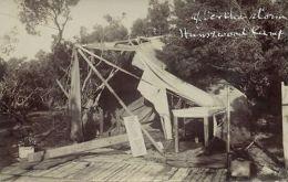 South Africa, PORT ELIZABETH, Humewood Camp, Storm Damage (1913) RPPC Postcard - South Africa