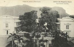 Mauritius Maurice, PORT LOUIS, Palais De Justice (1910s) Postcard - Mauritius