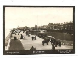 Lancs, SOUTHPORT, Boulevard (1898) Photographicum