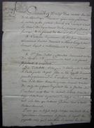 Ventose An 10 Nieul Le Virouil (Charente Maritime), Acquisition Jean Bellot De Jean Guerinaud - Manuscripts