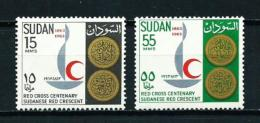 Sudán  Nº Yvert  160/1  En Nuevo - Sudan (1954-...)