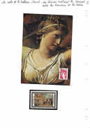 La Carte Et Le Tableau - Louis David - Les Sabines Arrêtant Le Combat Entre Les Romains Et Les Sabins - Art
