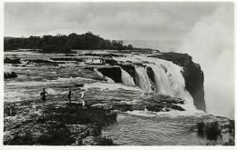 Rhodesia, Victoria Falls, Rapids Above Main Falls (1930s) RPPC - Zimbabwe