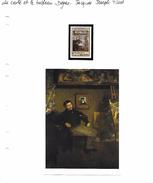 La Carte Et Le Tableau - Degas - Jacques Joseph Tissot - Impressionisme