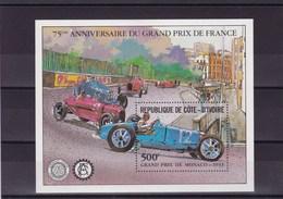 COTE D'IVOIRE : 75 Anniversaire Grand Prix De France : Y&T : ** : BF 20 - Côte D'Ivoire (1960-...)