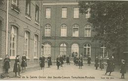 Roubaix - Pensionnat De La Sainte Union Des Sacrés-Coeurs Templeuve-Roubaix (Cour Des Jeux) Joueuses De Croquet (animée) - Roubaix