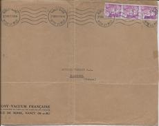 Dev. Env. SOCONY-VACUUM - Perf. VOC 40 Sur 811x3 - Perfins