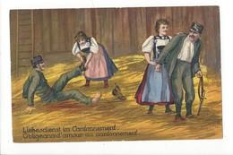 16455 - Obligeance D'amour Au Cantonnement /  Liebesdienst Im Cantonnement - Couples