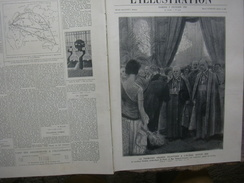 L'ILLUSTRATION 4066 DERNIERE NUIT DE DON JUAN ROSTAND  BARBIER  / SOLDAT INCONNU 5 FEVRIER 1921 - Newspapers