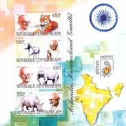 CENTRAL AFRICAN REPUBLIC Gandhi 1,unused(Z1) - Mahatma Gandhi