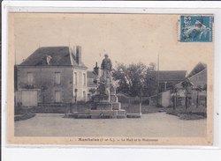 MANTHELAN : Le Mail Et Le Monument - Tres Bon Etat - France