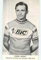 Pierre BERNET, Champion De France De Cyclocross 1965 - 1970. Cyclisme. 2 Scans. Bic - Radsport