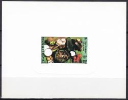 Polynesia Sc459 Local Food, Chicken Fafa, Alimentation, Deluxe Proof, Epreuve - Ernährung