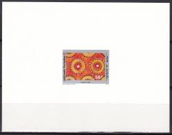 Polynesia Sc509 Tapa Art, Textile, Concentric Circles, Austral Islands, L'artisanat, Deluxe Proof, Epreuve - Textiel