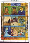 TCHAD, 2001, VICENT VAN GOGH, PINT144 - Impresionismo