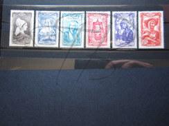 VEND BEAUX TIMBRES DE FRANCE N° 593 - 598 !!!! - Usati