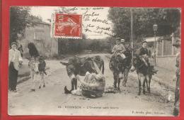ROBINSON - Dépt 92 - CPA - L'Omelette Sans Beurre - Animée -  1909 - Le Plessis Robinson