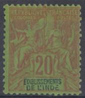 N° 7 - X - - India (1892-1954)