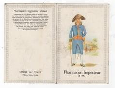 CALENDRIER 1984 OFFERT PAR VOTRE PHARMACIEN - PHARMACIEN INSPECTEUR 1797 EN UNIFORME - Small : 1981-90