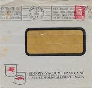 Dev. Env. SOCONY-VACUUM 1949 - Perf. VOC 40 Sur 813 - Perfins