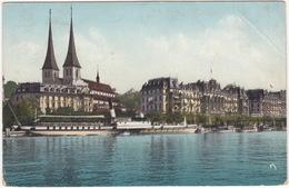 Luzern - Nationalquai - DAMPFER / BATEAU à VAPEUR - (Schweiz/Suisse) - LU Luzern