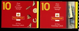 GREAT BRITAIN - 1991/92 GOOD LUCK & GREETINGS BOOKLETS - Carnets